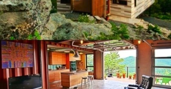 Shipping container- home | great idea | Pinterest | Shipping Containers, Colorado and Container Homes