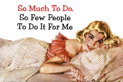 so much to do...................