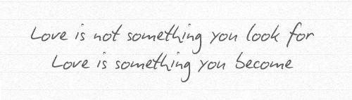 algo en lo que te conviertes