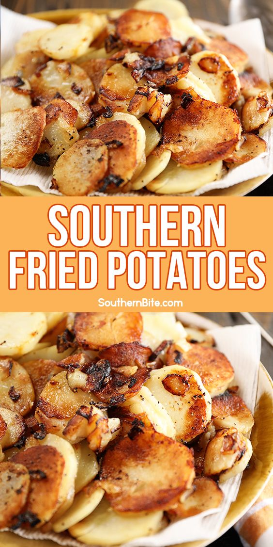 Southern Fried Potatoes Recipe In 2021 Fried Potatoes Cooking Recipes Recipes