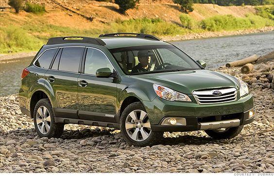 Subaru Outback...next car?? 7 great road-trip cars - Small and versatile - Subaru Outback (5 ...