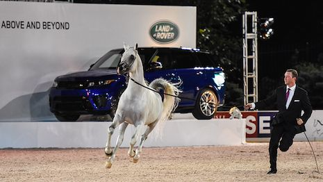 Land Rover reprises official role at Rolex Central Park Horse Show  Land Rover at the Rolex Central Park Horse Show  British automaker Land Rover is riding into the heart of New York as the official vehicle for the third annual Rolex Central Park Horse Show Sept. 21-25.  Land Rover has been selected as the official vehicle of the equestrian event for three years running. In its role as official vehicle of the Rolex Central Park Horse Show launched in 2014 the automaker will display its…