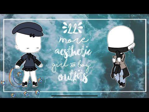 Gacha Life 22 More Aesthetic Outfits Girl Boy Youtube With