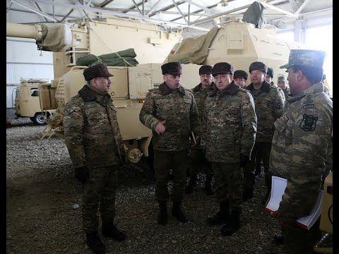 Zakir Həsənov Və Məhərrəm əliyev Cəbhə Bolgəsində Yerləsən Hərbi Hissələrdə Olublar Video Dunyaxəbər Informasiya Portali Military Units The Unit Military