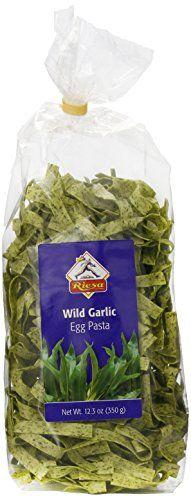 Best price on Riesa Egg Pasta in Bag, Wild Garlic, 12.30 Ounce