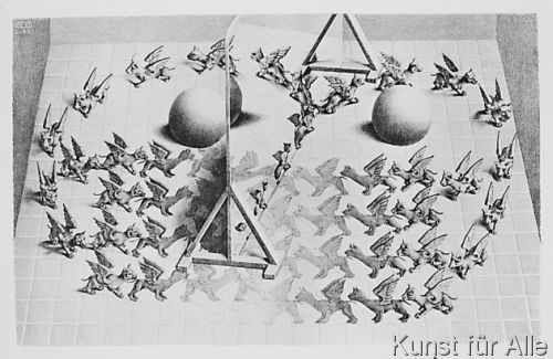 Maurits Cornelis Escher - Zauberspiegel 24