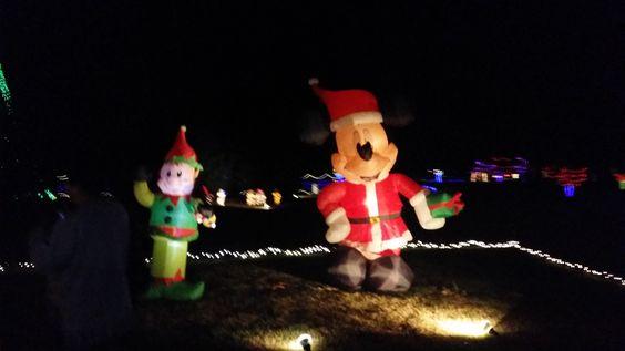 Festival de las luces que hacen en north carolina cada año ❤️/vlog #9