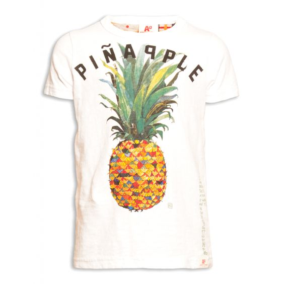 "T-Shirt ""Ananas"" - Primavera Estate 2015 - 4-12 anni"