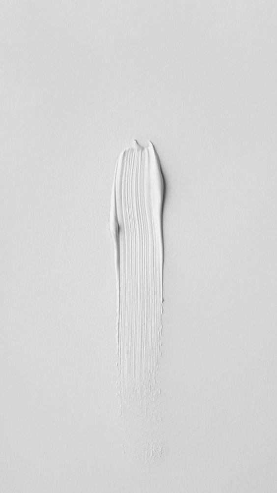iPhone Art Paint Minimalistic White Wallpaper iPhone