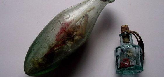 Victoriaanse 'heksenfles' werd gebruikt om het kwaad af te weren