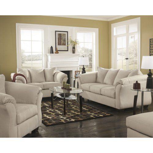7500038 Ashley Furniture Darcy Sofa White Sherman S Peoria