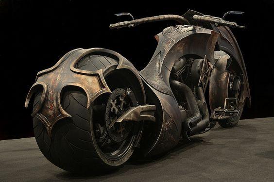 Outstanding Chopper Motorcycle   Totally Rad Choppers   Raddest Men's Fashion Looks On The Internet: http://www.raddestlooks.org