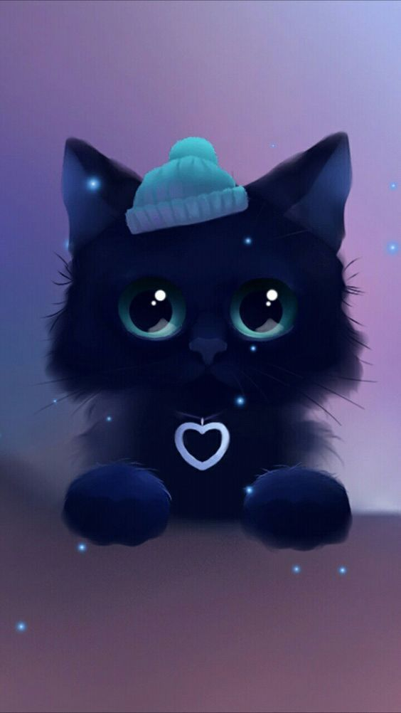 Fondos Bonitos Para Tu Celular In 2020 Cute Cat Wallpaper Cute Drawings Cat Wallpaper