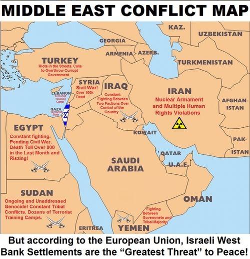 Middle East Conflict Map Politics Pinterest Middle East - Middle east map conflict