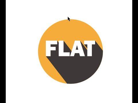 Cara Membuat Bayangan Pada Logo Flat Desain Coreldraw X7 Youtube Logos Coreldraw Company Logo