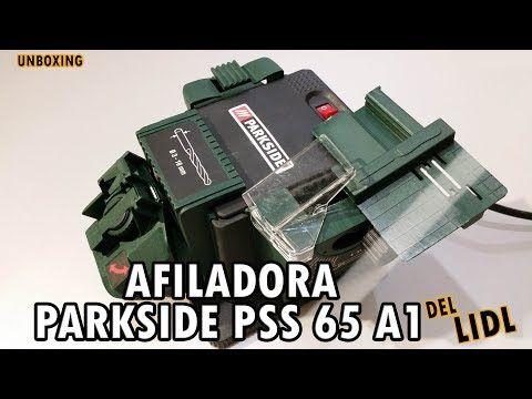 Afiladora Parkside Pss 65 A1 Del Lidl Youtube Herramientas Compras