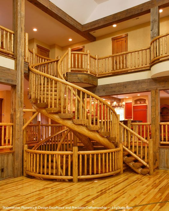 Best Round Wooden Staircase Lets Take The Stairs Pinterest 400 x 300