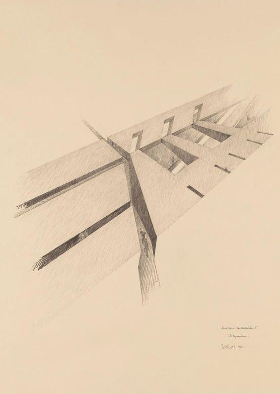 Claude Parent #architecture #sketch