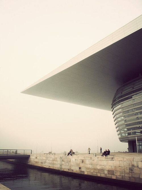 The National opera house of #Denmark in #Copehagen designed by the #Danish architect Henning Larsen