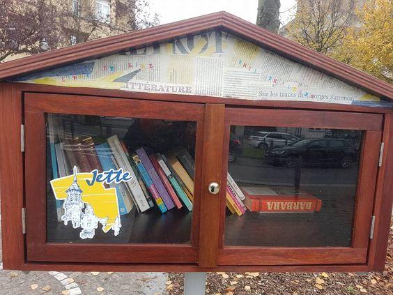 Boîte à livres Jette
