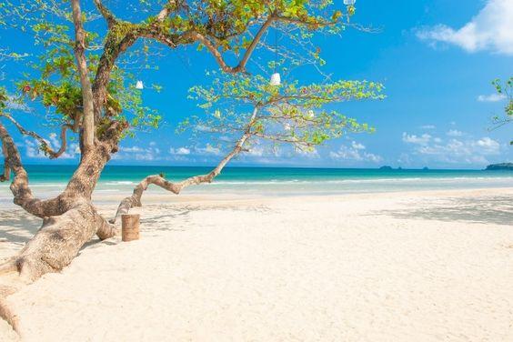 La sérénité de White Sand Beach à Koh chang : Thaïlande