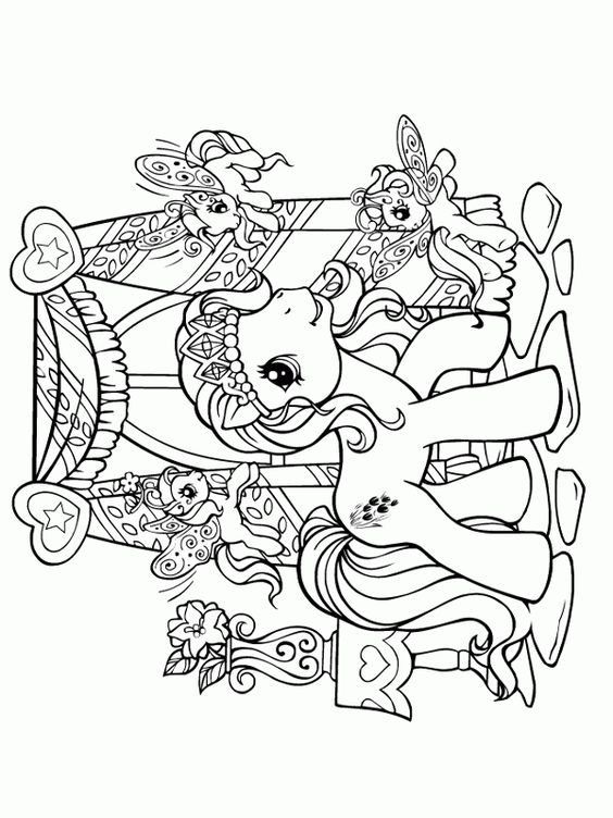My Little Pony G3 Coloring Pages : My little pony coloring pages pinterest princess