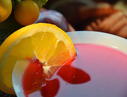 cool Orange drink