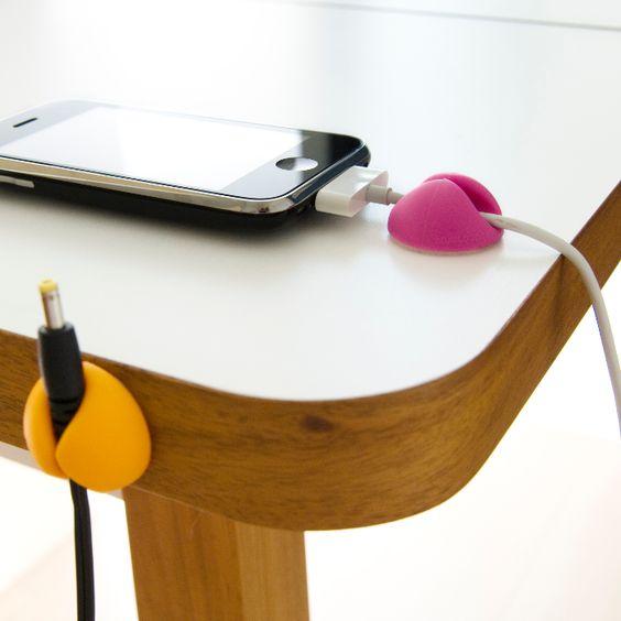 Bluelounge Attaches câbles multicouleur a 12,95 € sur lick.fr