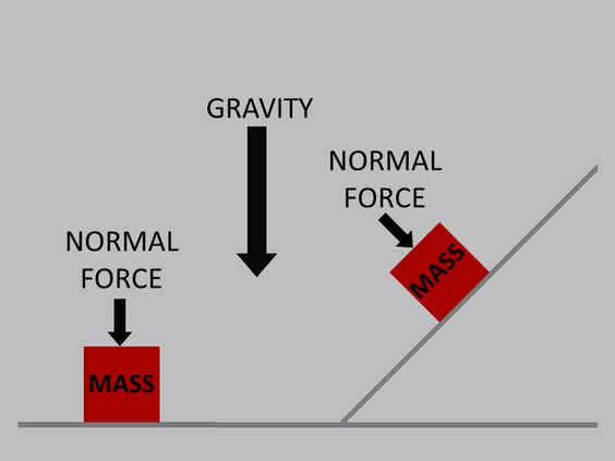 Natural Force: In mechanics, the normal force is the component, perpendicular to the surface of contact, of the contact force exerted on an object by. Natural force basically keeps the mass from penetrating the surface.