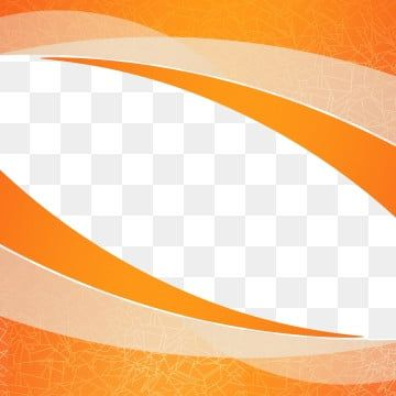 Orange Empty Wavy Shape Design Element Decor For Brochure Flyer Fluid Wave Curve Line Shape Vector Wave Png Transparent Clipart Image And Psd File For Free In 2020 Design Element