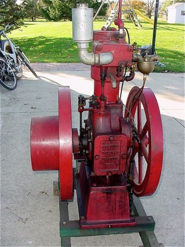 An old hit and miss engine