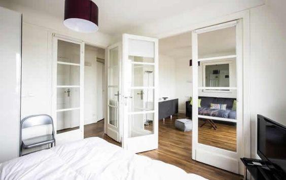 Slapen in een appartement in Parijs bij de Bastille