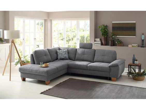Home Affaire Ecksofa Laverna Wahlweise Mit Bettfunktion In 4 Bezugs Home Home Decor Furniture