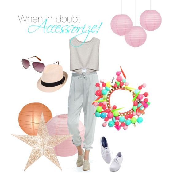 """New & Neon!"" by misshighandlow on Polyvore"