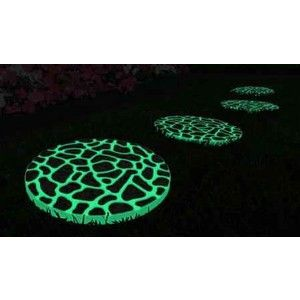 Glow In The Dark Stepping Stones They Look Completely