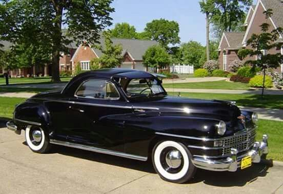1948 Chrysler Business Coupe Chrysler Windsor
