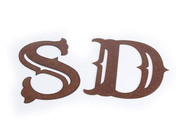 custom metal letters