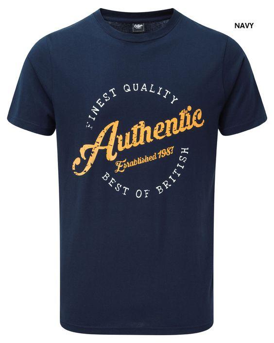 Printed T-shirt at Cotton Traders