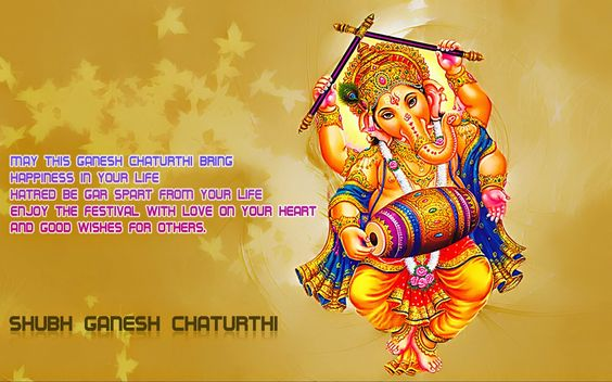#happyganeshchaturthi Ganesha Chaturthi is also known as Vināyaka Chaturthi.This is the Hindu festival celebrated in honour of the elephant-headed god, Ganesha. This is a very auspicious day celebrated to pray to the god so that every new activity that is started is successfully completed without any obstacles . Celebrations are traditionally held on the fourth day of the second fortnight (Shukla Chaturthi) in the month of Bhaadrapada in the Hindu calendar, usually August o... See more