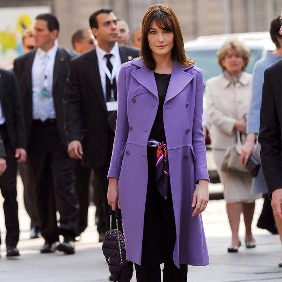 Carla Bruni Sarkozy : le style modeste de la première dame décrypté - Mode - Plurielles.fr