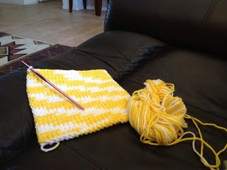 Check out my new blog post for this super easy, super thick pot holder/hot pad.