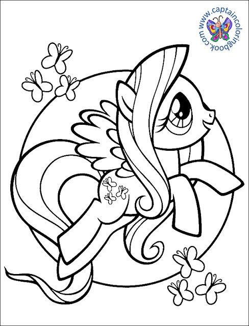 My Little Pony Pictures To Color : little, pictures, color, LITTLE, COLORING, PAGES, Little, Coloring,, Unicorn, Coloring, Pages,, Books