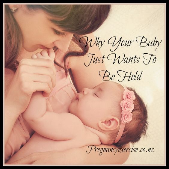 Being held in a mother's arms is the safest place for a baby to be, and the mother can have peace of mind knowing her baby is happy, content, and relaxed. The fact that babies are neurobiologically wired to stop crying when carried is a part of our evolutionary biology that helps our species survive.