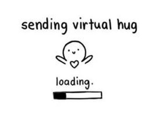 Love Memes Funny I Love You Memes For Her And Him Virtual Hug Hug Quotes Hug Gif