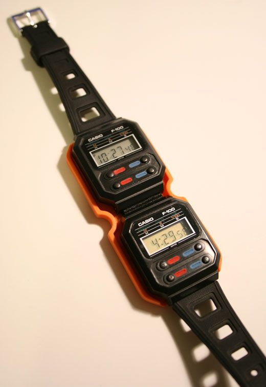 Casio f100-Ellen Ripley's Watch