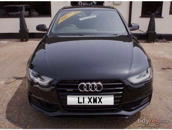 L1 XWX - Audi A4 - £555.00