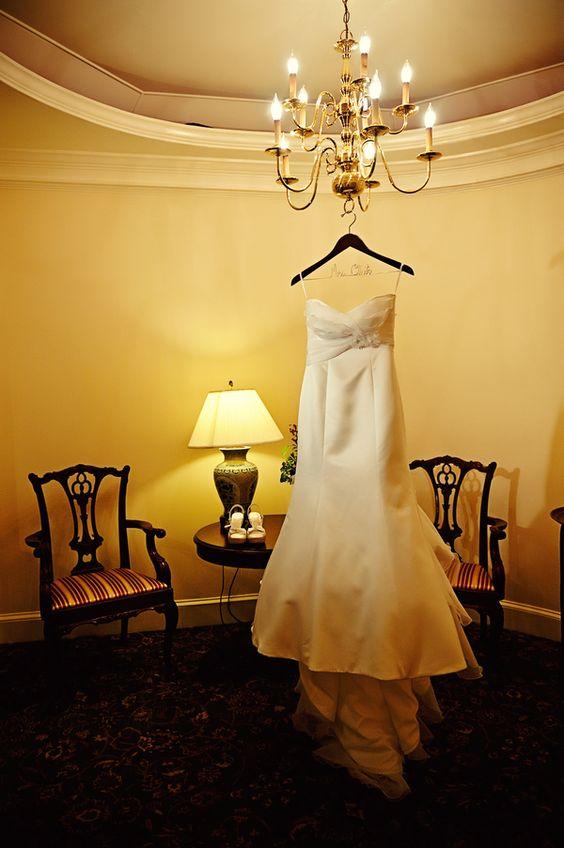 Jen's wedding gown from a handmade Warrenton, VA wedding