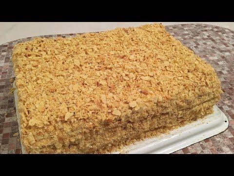 Klassik Napoleon Tortu Resepti Klassicheskij Tort Napoleon Recept Prigotovleniya Youtube Hizli Yemek Tarifleri Pastalar Yemek Tarifleri