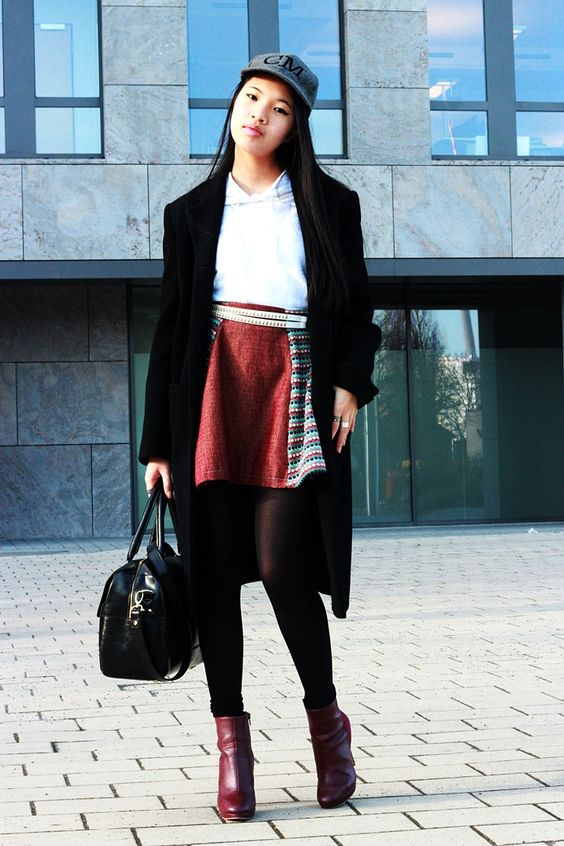 Sporty Elegant Chic with long coat