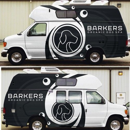 Guaranteed Prize Design An Amazing Mobile Dog Grooming Van Wrap That Pops Out And Wows Everyone Car Truck Or Va Mobile Pet Grooming Van Wrap Dog Grooming
